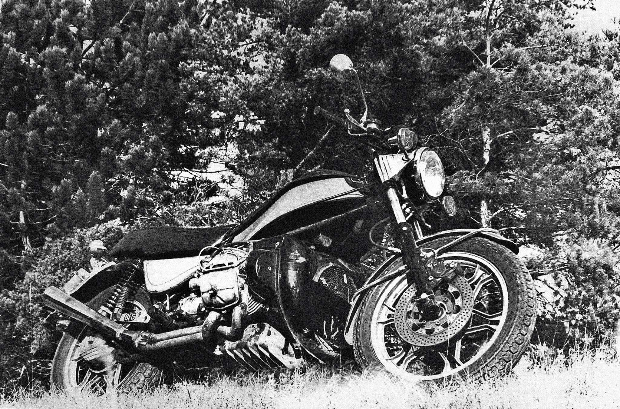Ensimmäinen prototyyppi vuodelta 1979.